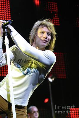 Bon Jovi Poster by Concert Photos