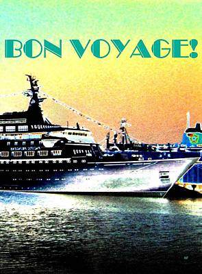 Bon Voyage Poster by Will Borden