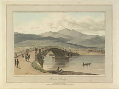 Bonar Bridge In The Kyles Of Sutherland Poster by British Library