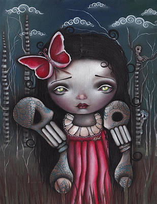 Bones Butterflies And Dreams Poster