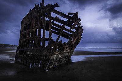 Bones Of The Peter Iredale Poster