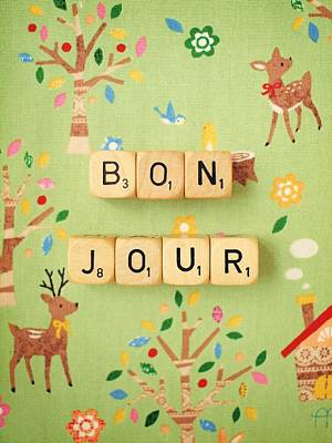 Bonjour Poster by Mable Tan