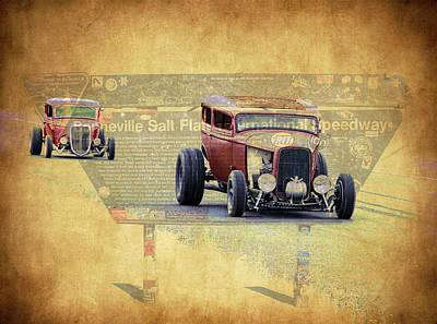 Bonneville Rodz Poster