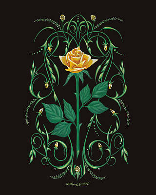 Bonnie's Bouquet Poster