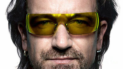 Bono  Poster by Marvin Blaine