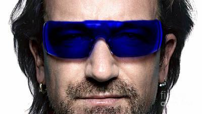 Bono Of U2 Poster
