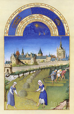 Book Of Hours: June Poster