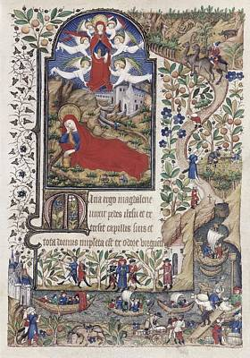 Book Of Hours Of Marguerite Dorl�ans Poster