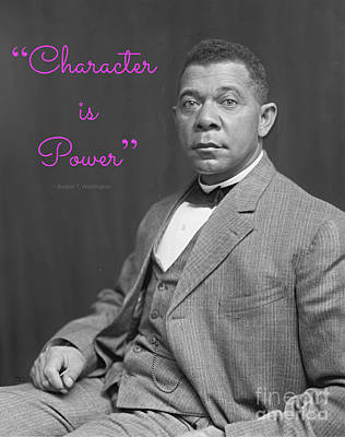 Booker T. Washington 1895 Poster