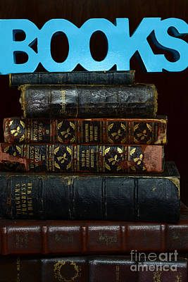 Books Poster by Paul Ward