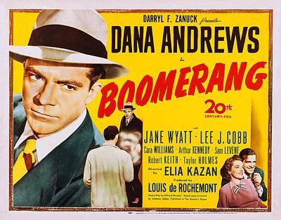 Boomerang, Us Poster, Dana Andrews Far Poster by Everett