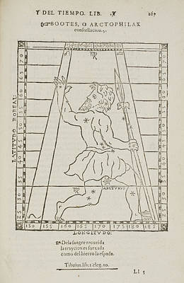 Bootes Star Constellation Poster by British Library