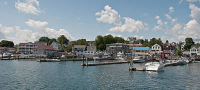 Boothbay Harbor 1242 Poster