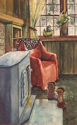 Boots Poster by Joy Nichols