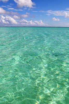 Bora Bora Green Water II Poster