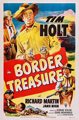 Border Treasure, Us Poster, Top Poster by Everett