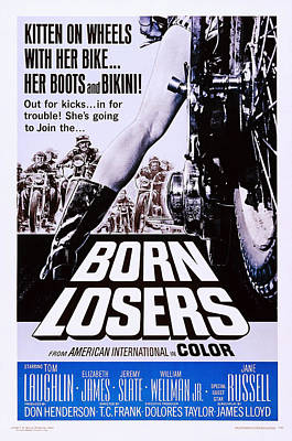 Born Losers, Aka The Born Losers, Us Poster by Everett