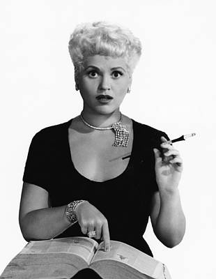 Born Yesterday, Judy Holliday, Portrait Poster