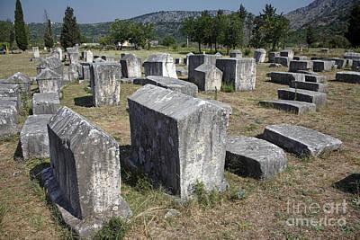 Bosnian Medieval Necropolis Poster