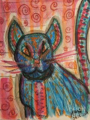 Bossa Nova Kittykat Poster by Mimulux patricia no No