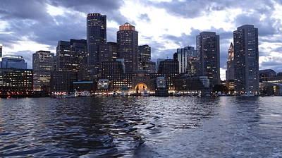 Boston At Twilight Two Poster