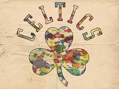 Boston Celtics Poster Art Poster