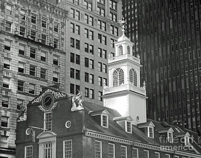 Boston Old State House Poster