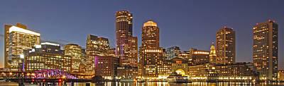 Boston Panoramic Poster