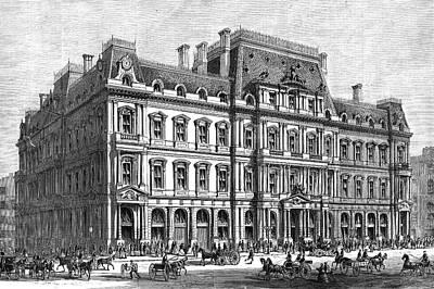 Boston Post Office, 1870 Poster by Granger