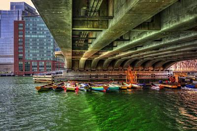 Boston Rowing Center Poster