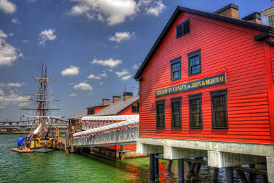 Boston Tea Party Museum 3 Poster by Joann Vitali