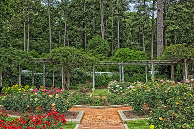 Botanical Gardens - Birmingham Alabama Poster by Mountain Dreams