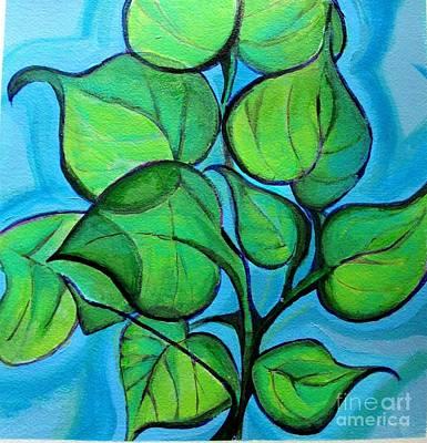 Botanical Leaves Poster