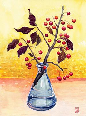 Bottled Autumn Poster