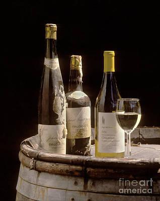 Bottled Chardonnay 1889 Poster by Craig Lovell