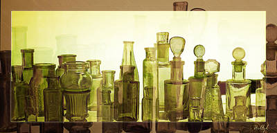 Poster featuring the photograph Bottled Light by Holly Kempe