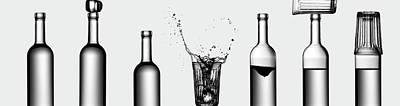 Bottles Game Poster