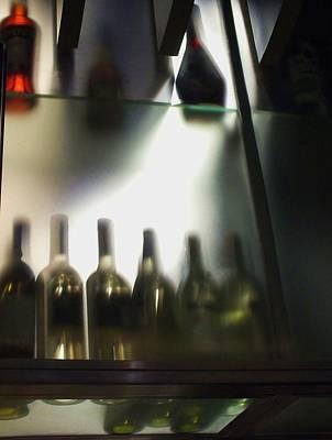 Bottles II Poster by Anna Villarreal Garbis
