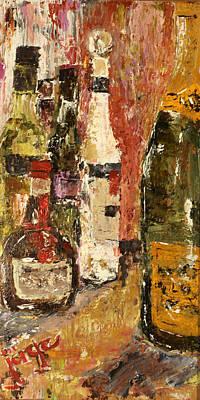 Bottles Poster by Jorge Garza