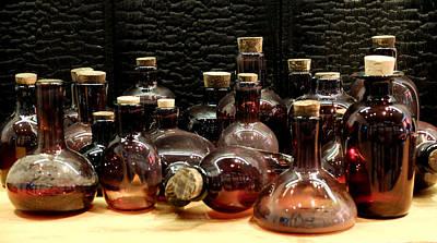 Bottles Poster by Juan Torrero