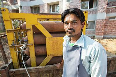 Bottles Of Biogas Poster
