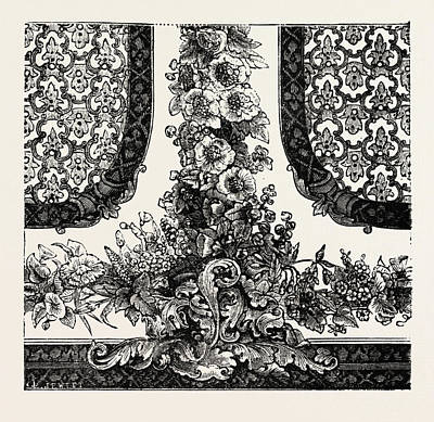 Bottom Of Decoration For Room Poster by Messrs. Horne, English, 19th Century