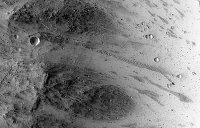 Boulder On Mars Poster