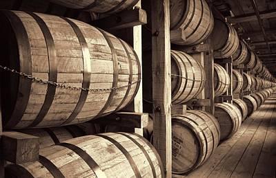 Bourbon Barrels Poster by Dan Sproul