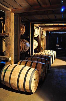 Bourbon Barrels Poster