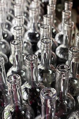 Bourbon Bottles Poster