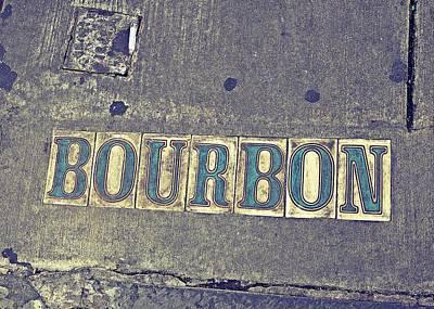 Bourbon Street Tiles Poster