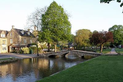 Bourton On The Water 2 Poster by Ron Harpham