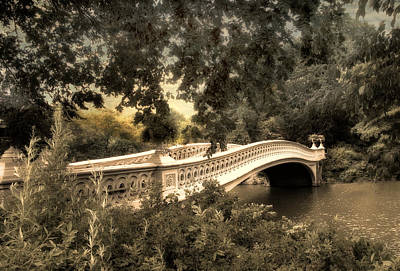 Bow Bridge At Dusk Poster by Jessica Jenney
