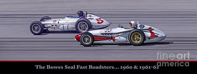 Bowes Seal Fast Roadsters Poster